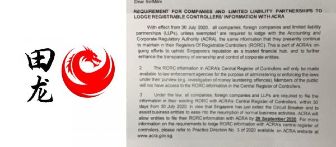 lodge register of registrable controllers